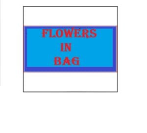 Small Flowers in Bag
